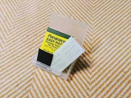 パナレーサーのパンク修理イージーパッチキット