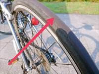 エスケープR3のタイヤとチューブ交換